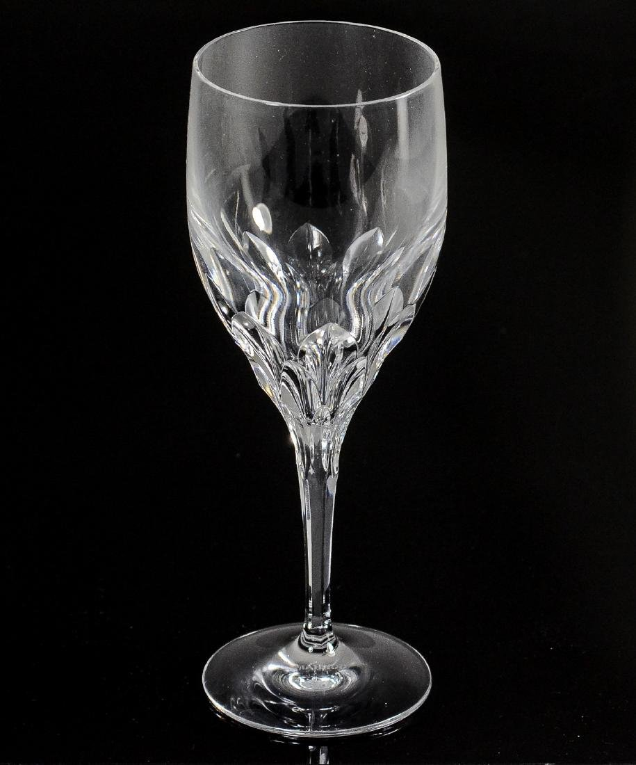 44 Gorham Diamond Clear cut crystal goblets