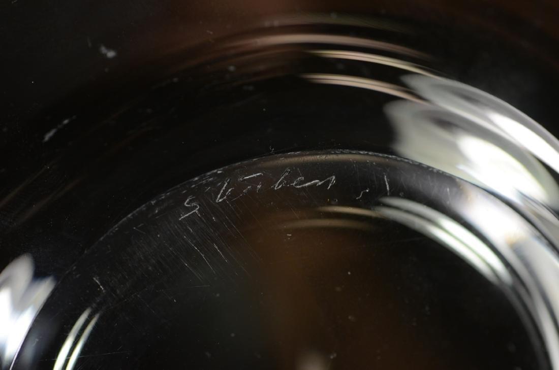 56 pcs Steuben glass tableware - 5