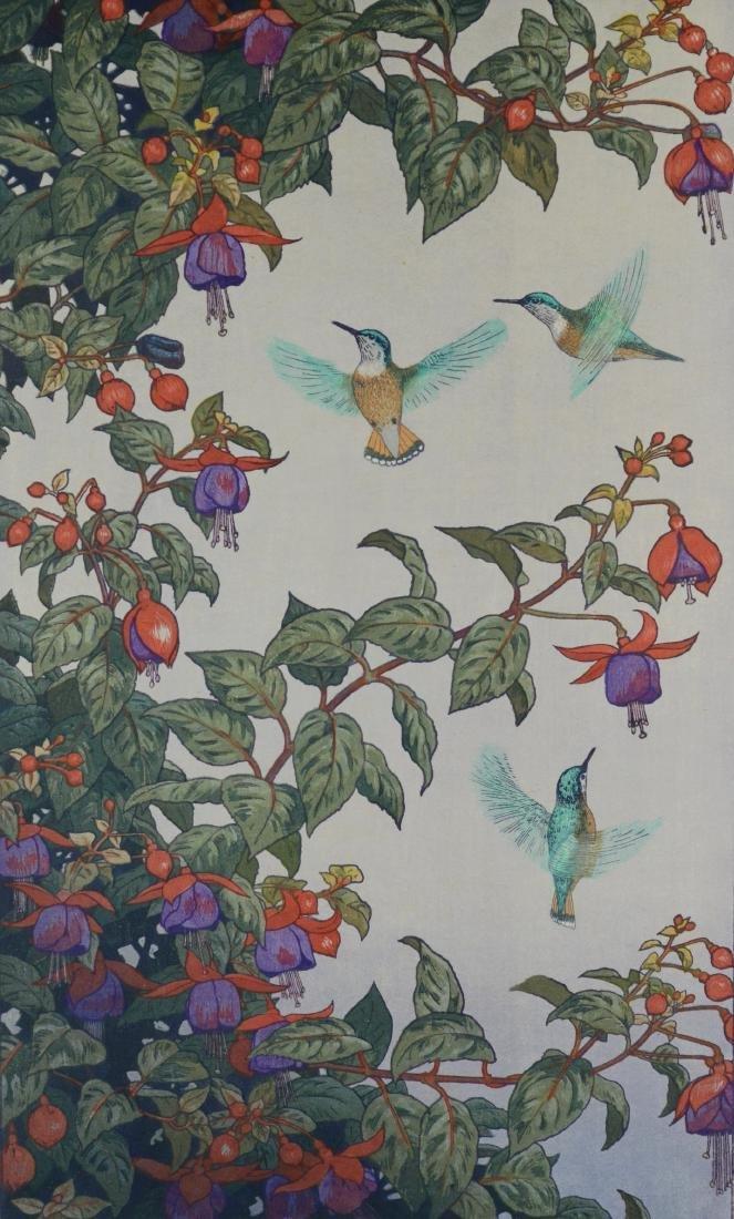 Toshi Yoshida Japanese woodblock print
