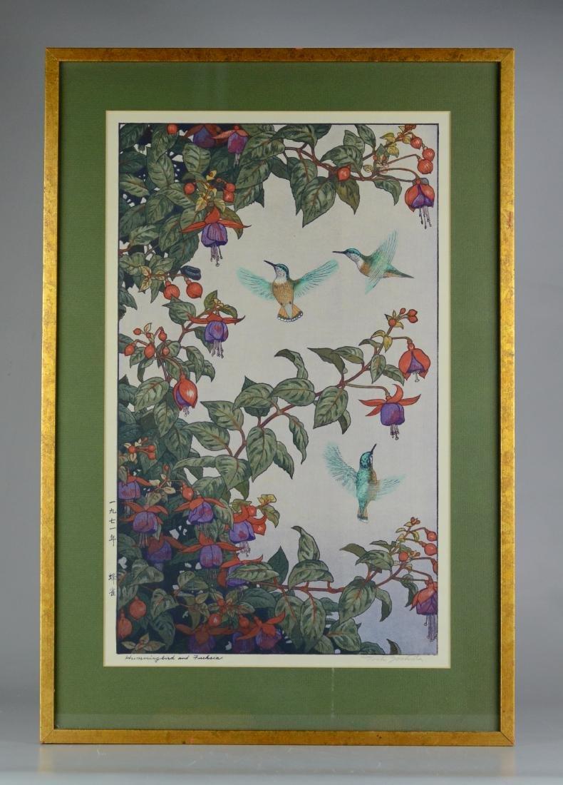 Toshi Yoshida Japanese woodblock print - 2