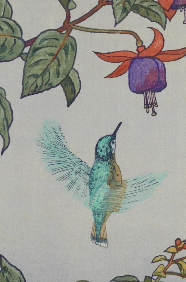 Toshi Yoshida Japanese woodblock print - 4
