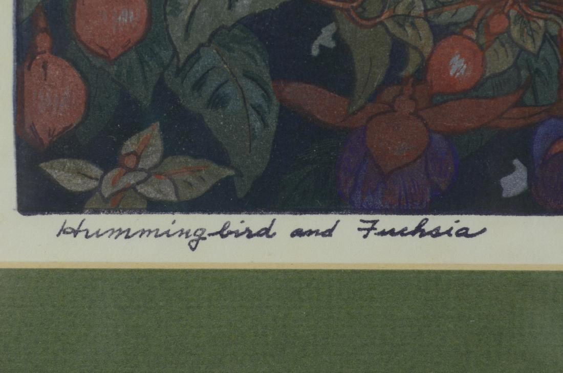 Toshi Yoshida Japanese woodblock print - 6