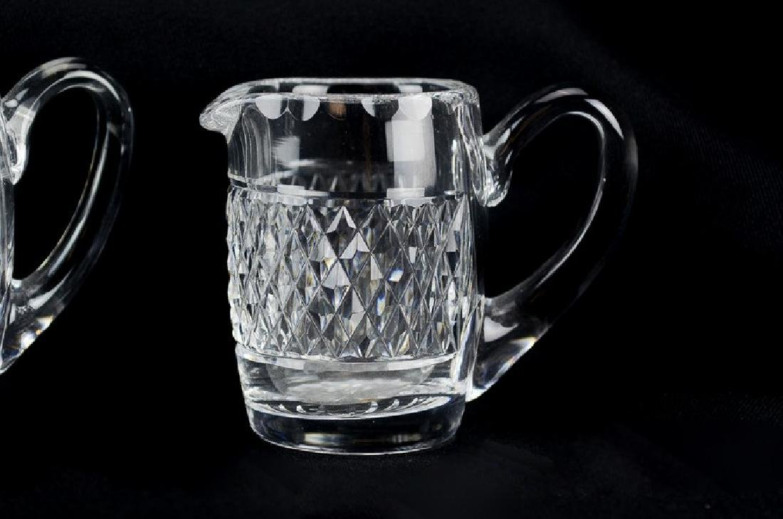 (5) pcs Waterford cut crystal - 2