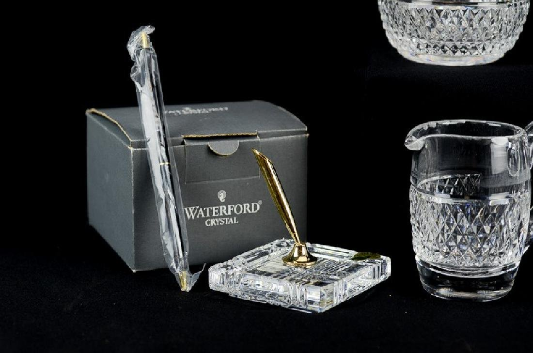 (5) pcs Waterford cut crystal - 4