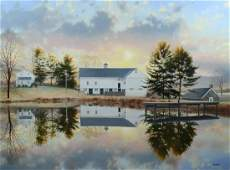 J Wayne Bystrom, Chester Co landscape painting