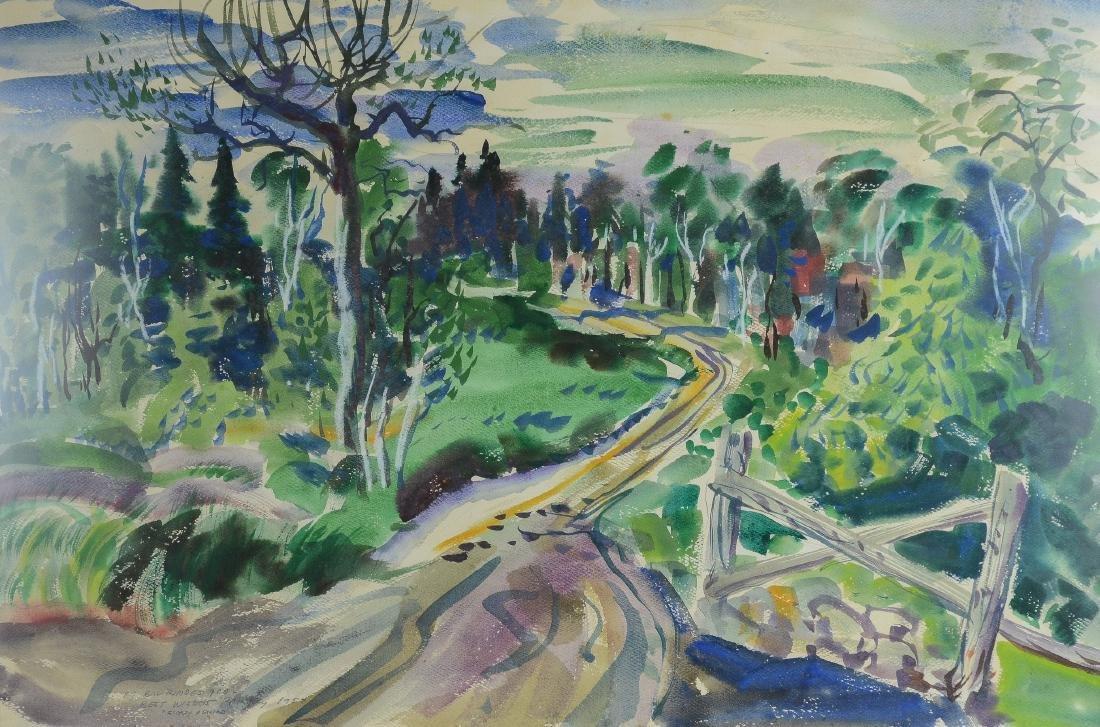 William Rakocy , El Paso landscape painting