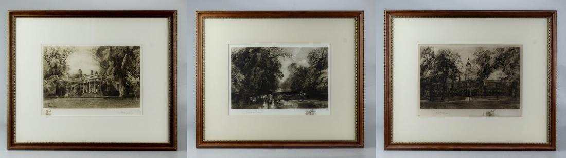 Robert Shaw, 3 etchings