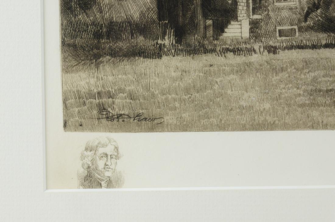 Robert Shaw, 3 etchings - 4