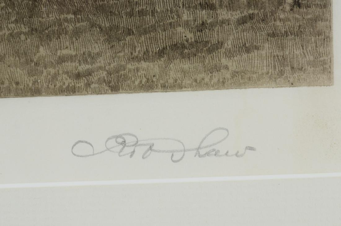 Robert Shaw, 3 etchings - 5