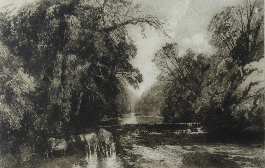 Robert Shaw, 3 etchings - 6