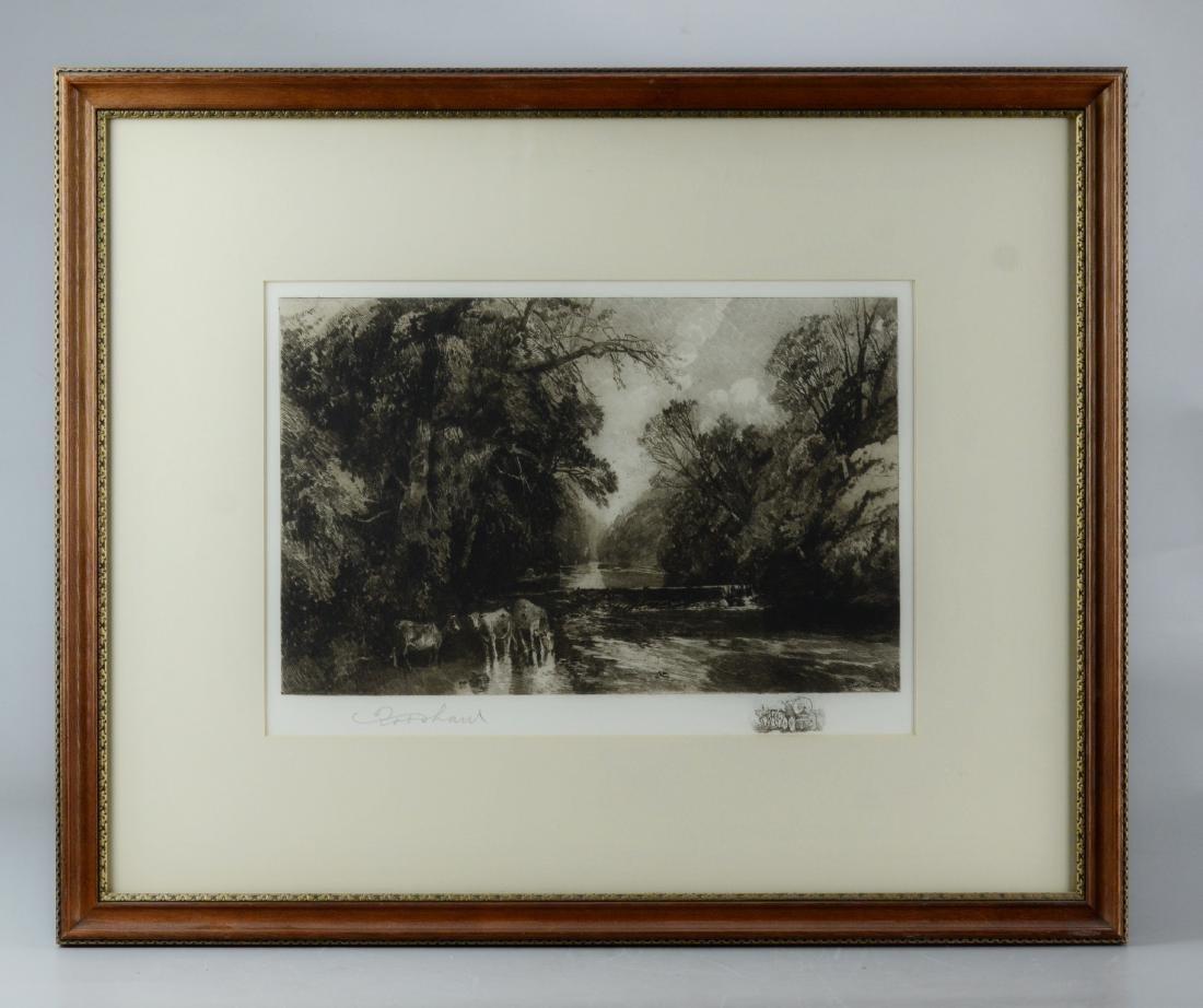 Robert Shaw, 3 etchings - 7