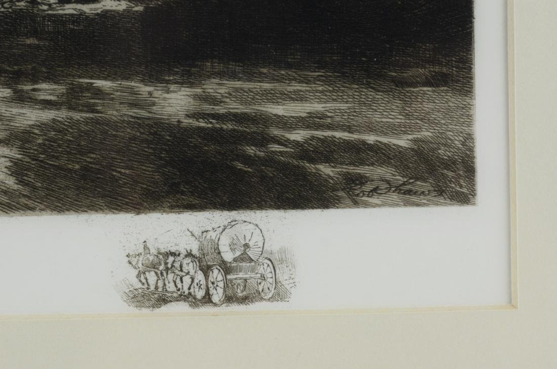 Robert Shaw, 3 etchings - 8