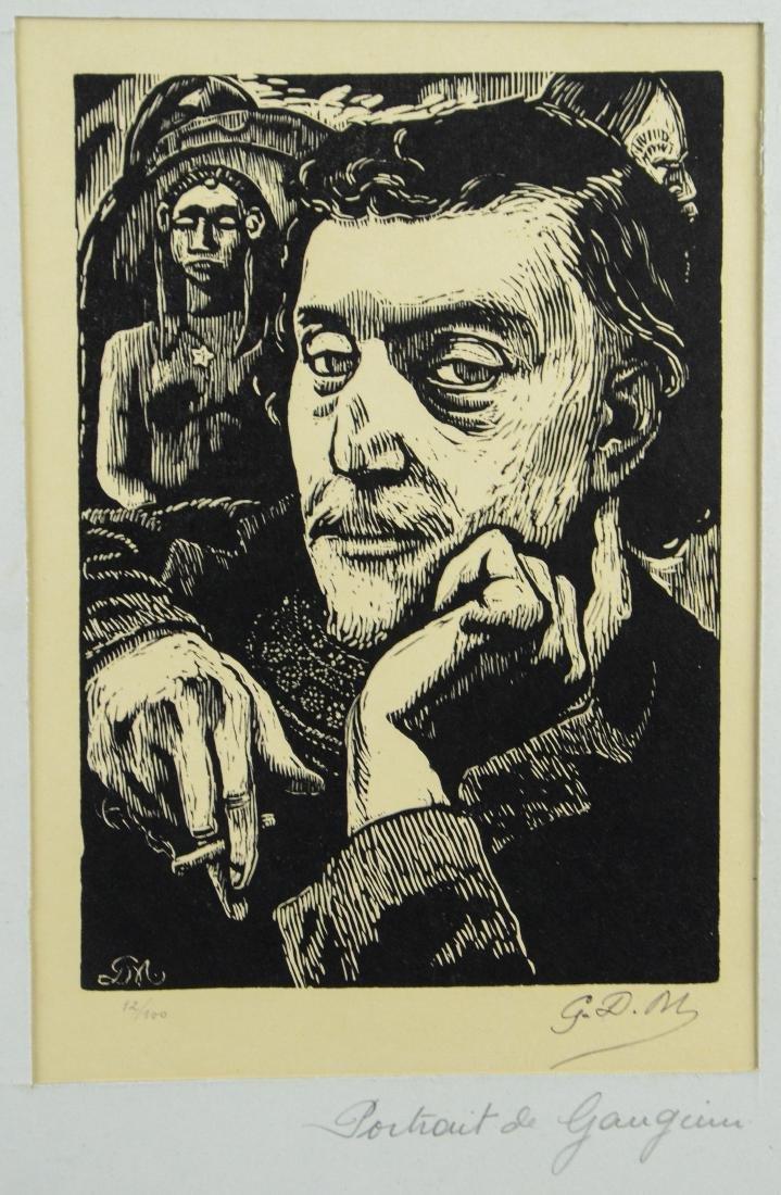 """Georges Daniel Monfreid, """"Portrait de Paul Gauguin"""""""