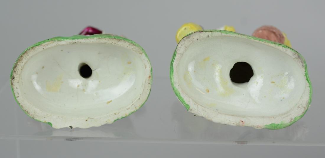 (2) pr Continental porcelain figures - 4