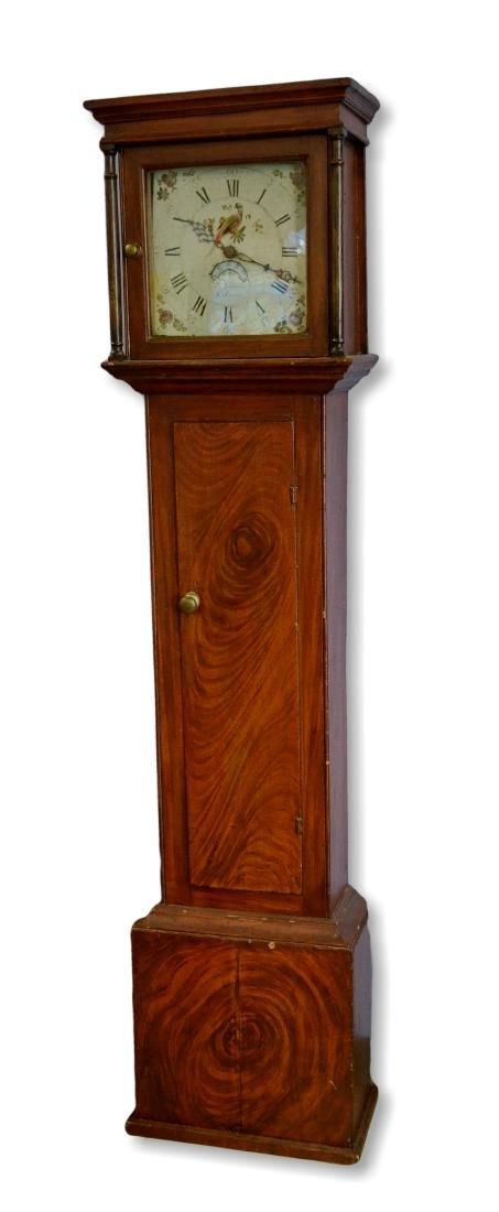 B Andrews, St Austle, tall case clock