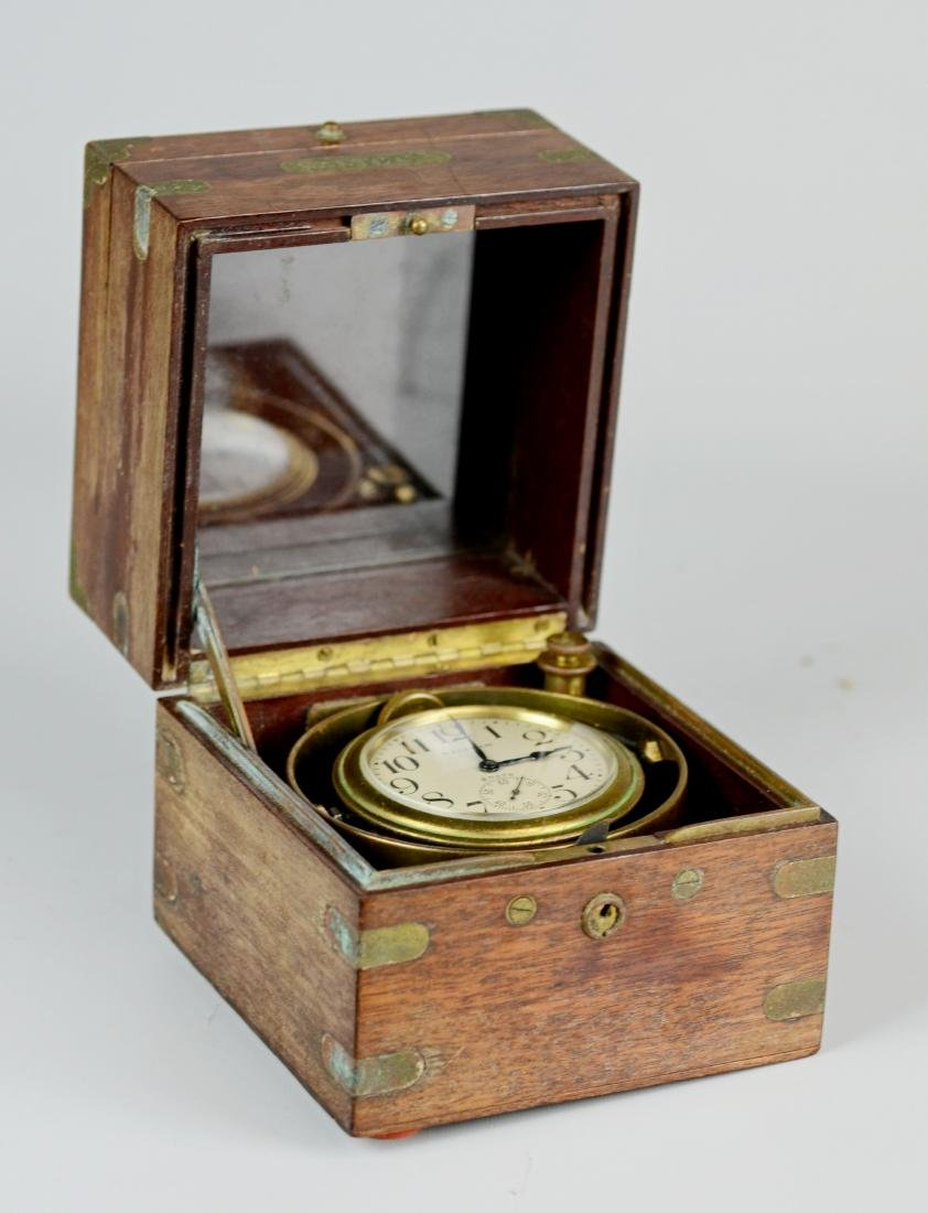 Waltham Watch Company 8 Day Marine Chronometer