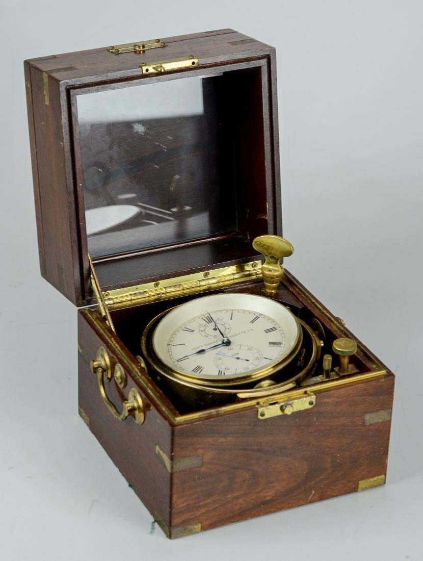 Johannes Raabe, ships chronometer