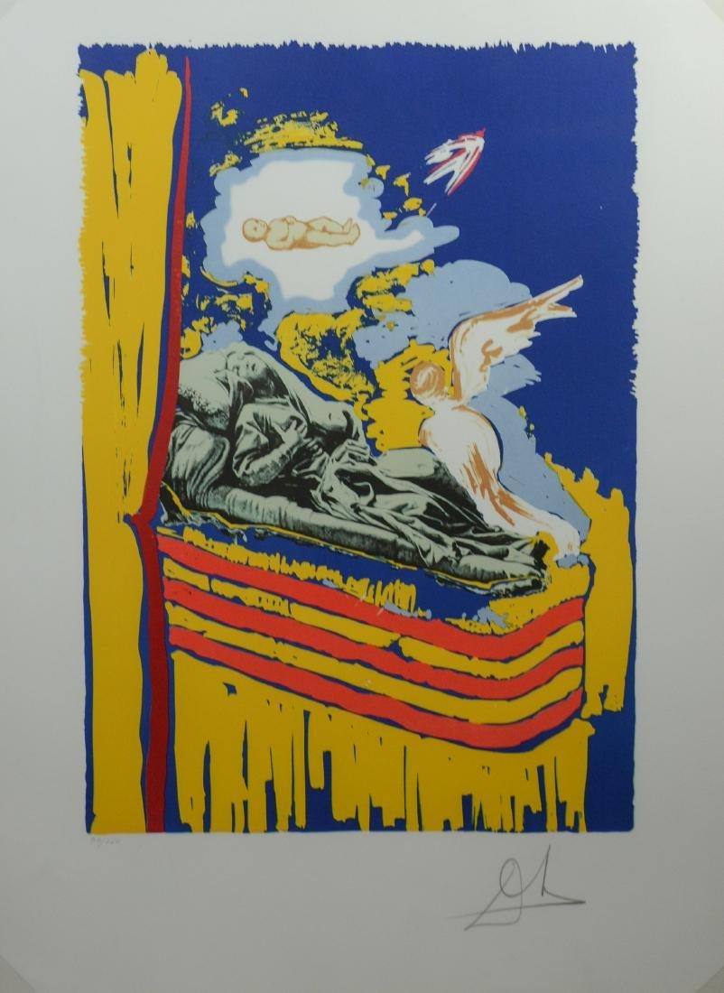 "Salvador Dali lithograph ""Immaculate Conception"""