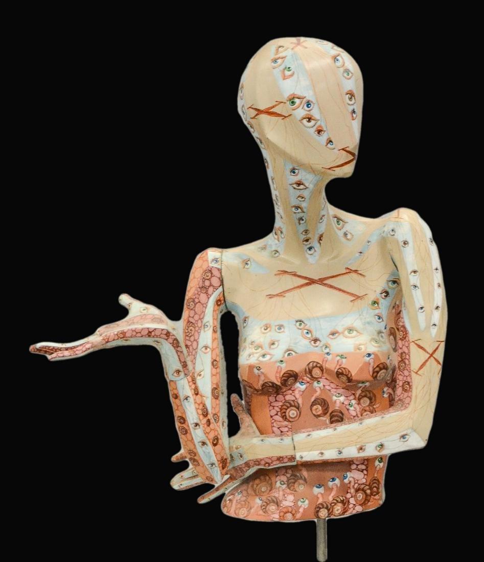 "Leza Lidow mannequin, ""Up the Garden Path"""