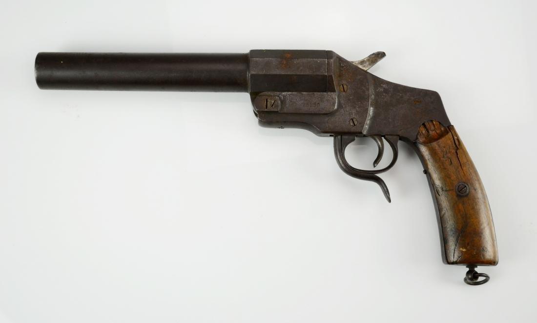 WWI Imperial German Hebel flare gun