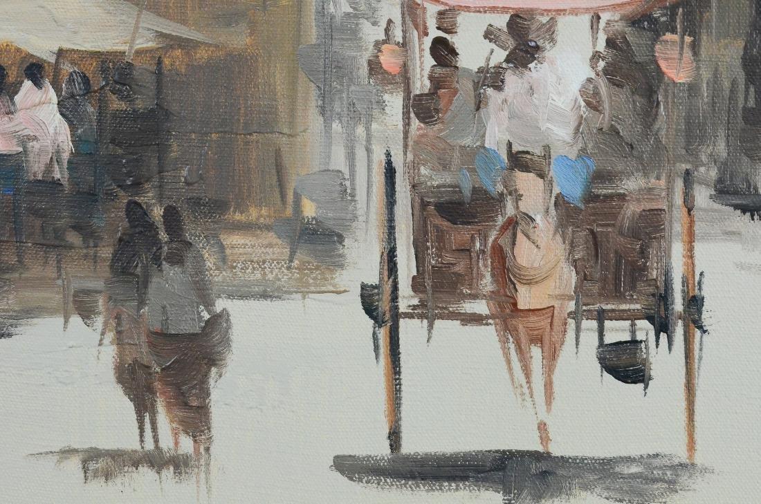 Eddie Sarmiento, City street scene painting - 3