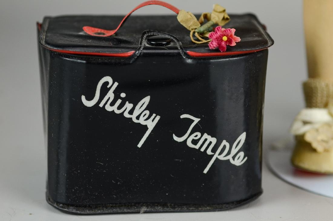 Ideal composition Shirley Temple doll & purse - 2