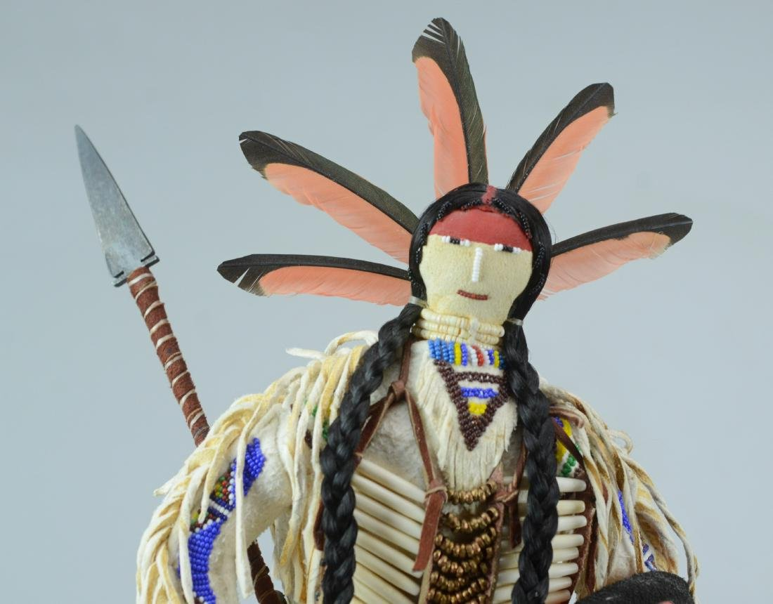 Donna Shakespeare-Cummings Arapaho Indian Doll - 3
