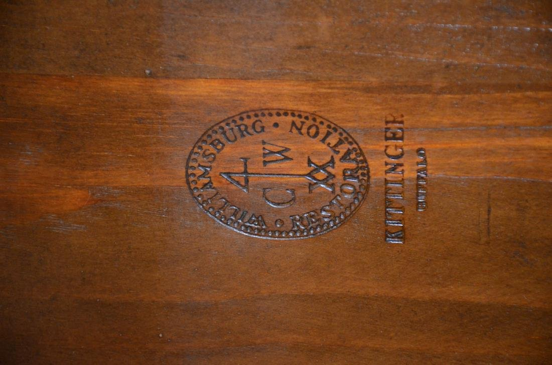 CW Kittinger Queen Ann mahogany tea table - 2