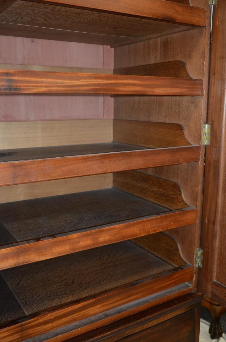 Georgian style mahogany wardrobe - 6
