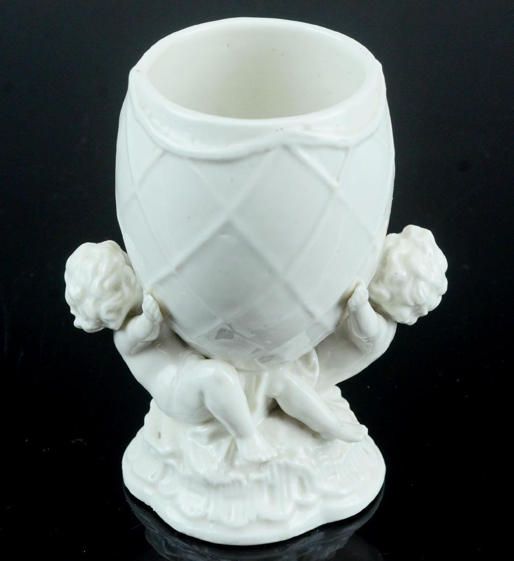 Meissen Augustus Rex blanc de chine porcelain vase - 2