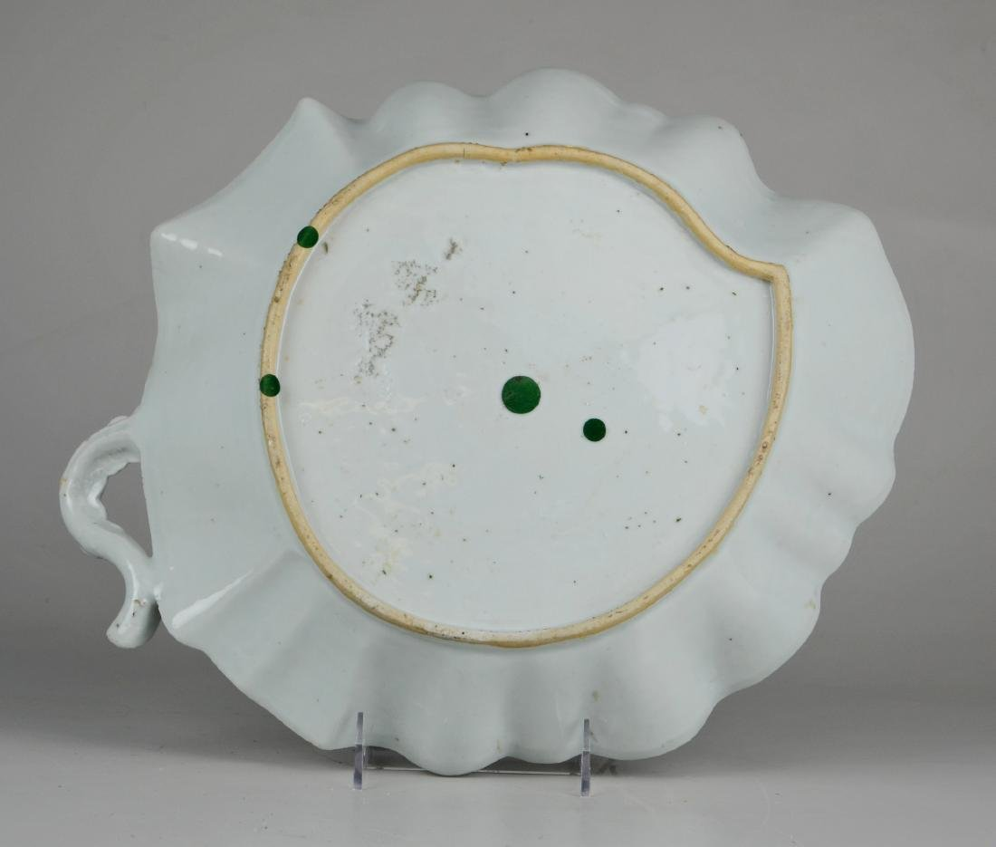 Chinese export leaf shaped bowl - 2