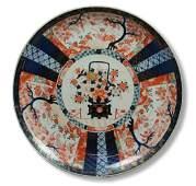 Huge Imari porcelain charger