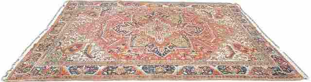 Circa 1920's Heriz Carpet