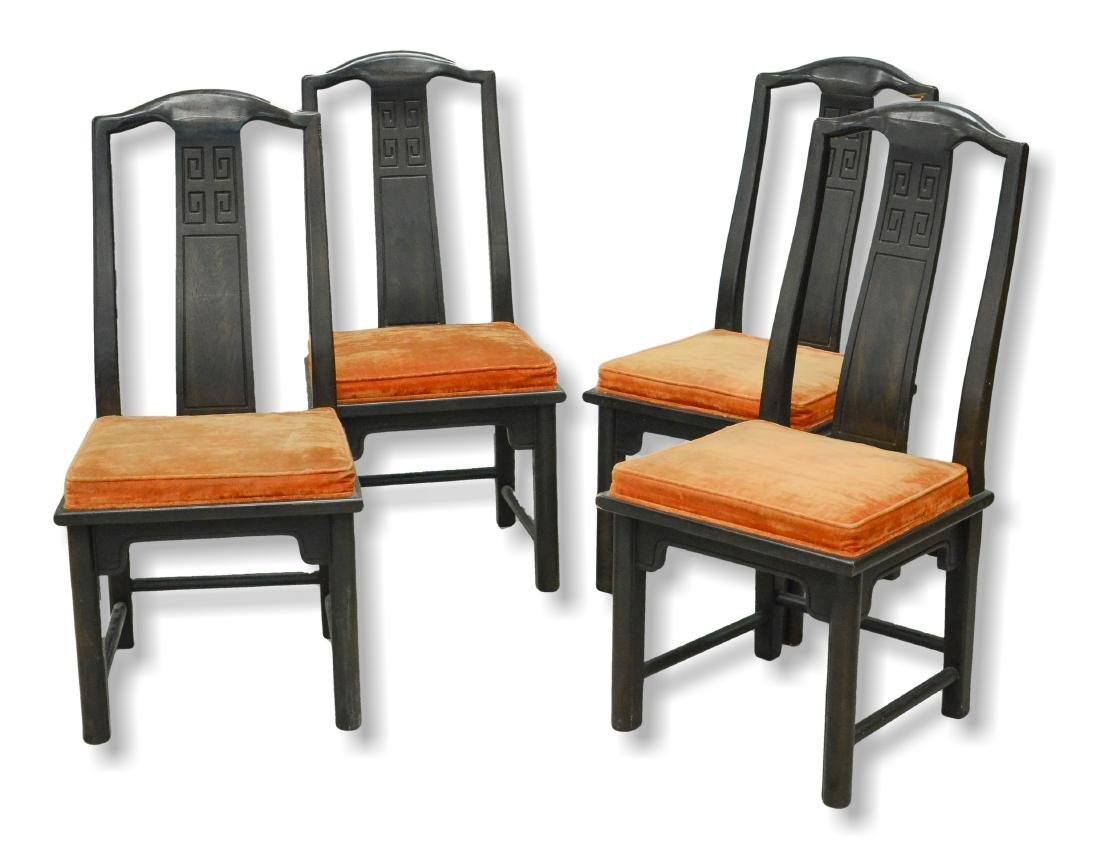 (4) Century Furniture Chinese style side chairs