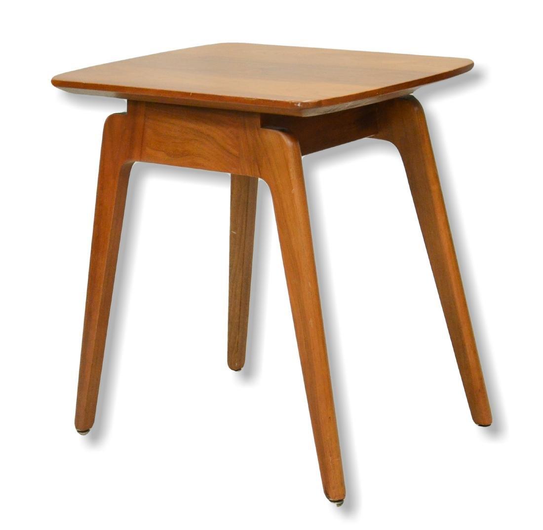 W H Gunlocke Chair Co modern Danish style side table