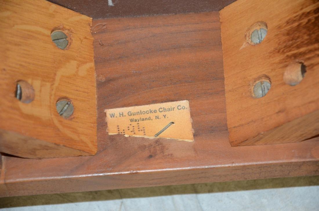 W H Gunlocke Chair Co modern Danish style side table - 3