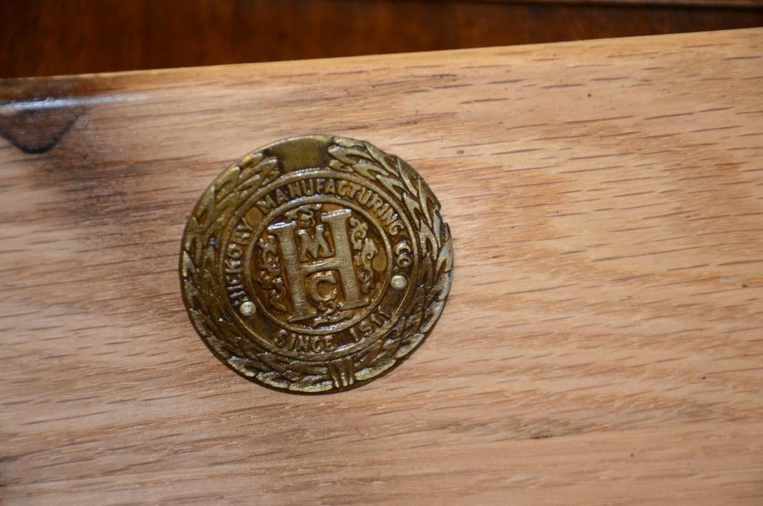 (13) pc Mahogany Hickory Chair Co dining room set - 6