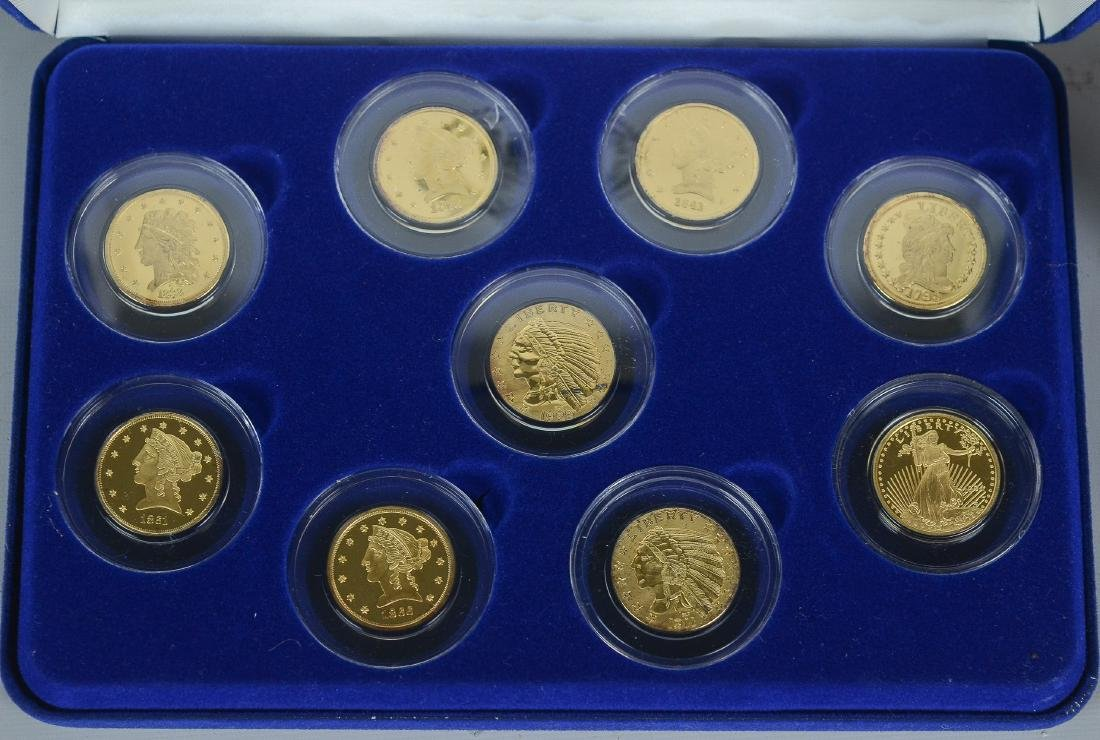 (11) National Collector's Mint $5 Gold Proofs - 5