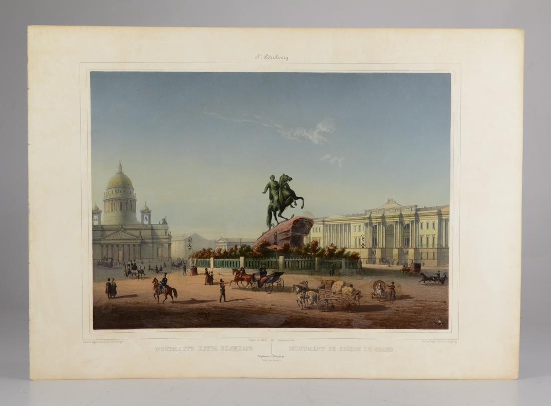 J Charlemagne, Beeger, Jacottet et Regamey lithograph - 2