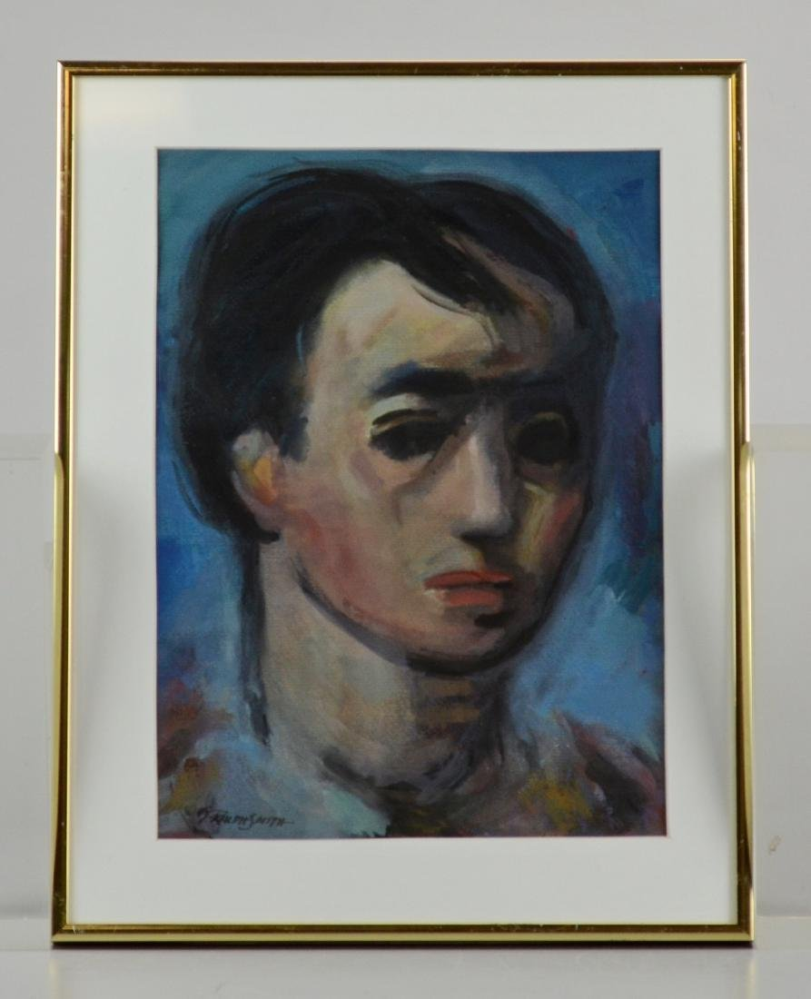 "G Ralph Smith, portrait, ""Young Man"" - 2"