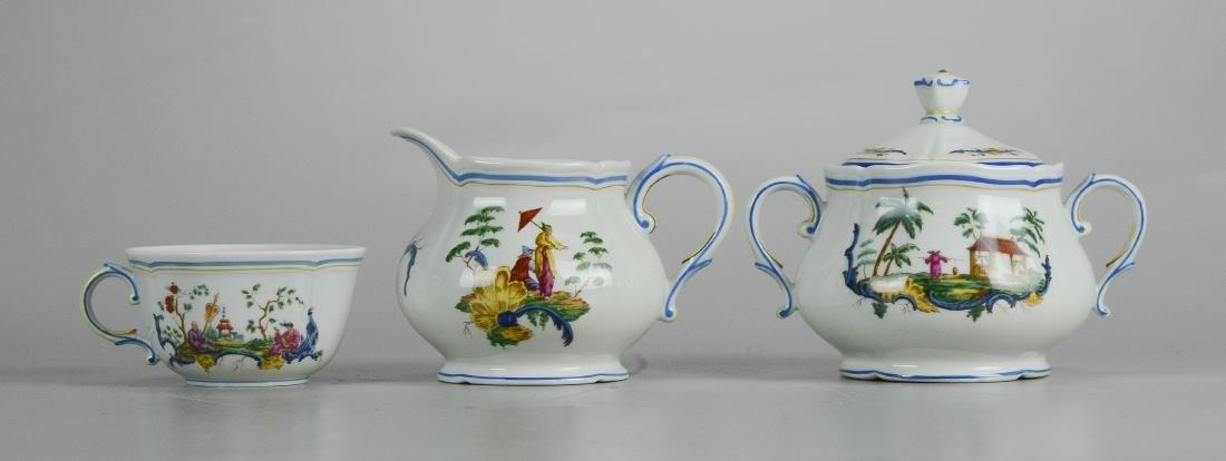 (14) pcs Richard Ginori Chinois pattern china