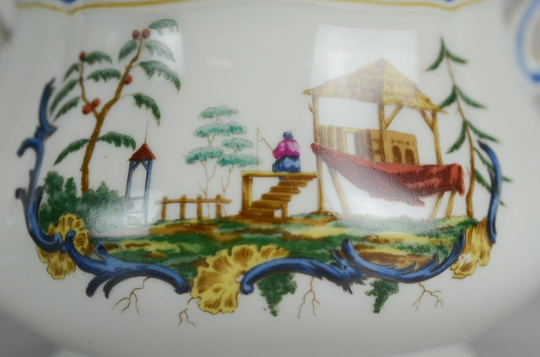(14) pcs Richard Ginori Chinois pattern china - 3