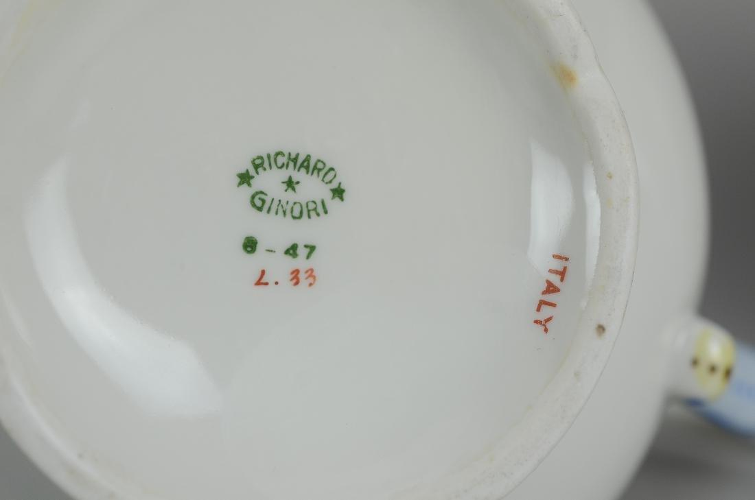 (14) pcs Richard Ginori Chinois pattern china - 4