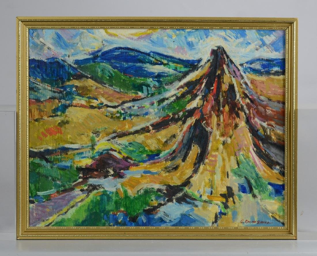 G Ralph Smith, abstract landscape painting - 2