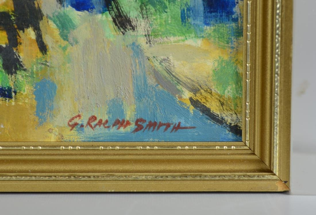 G Ralph Smith, abstract landscape painting - 3