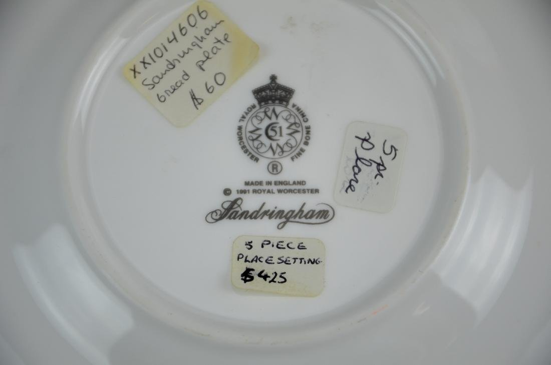 (2) Royal Worcester 5-piece place settings - 2