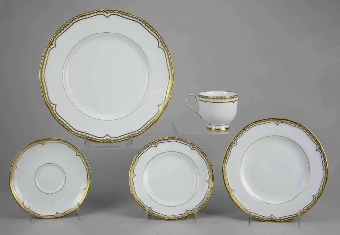 (2) Royal Worcester 5-piece place settings - 5