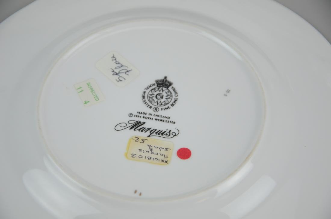 (2) Royal Worcester 5-piece place settings - 6