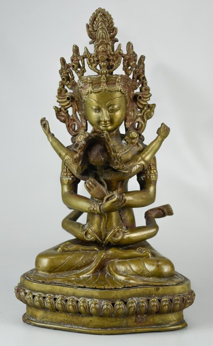 Tibetan bronze figure - 2