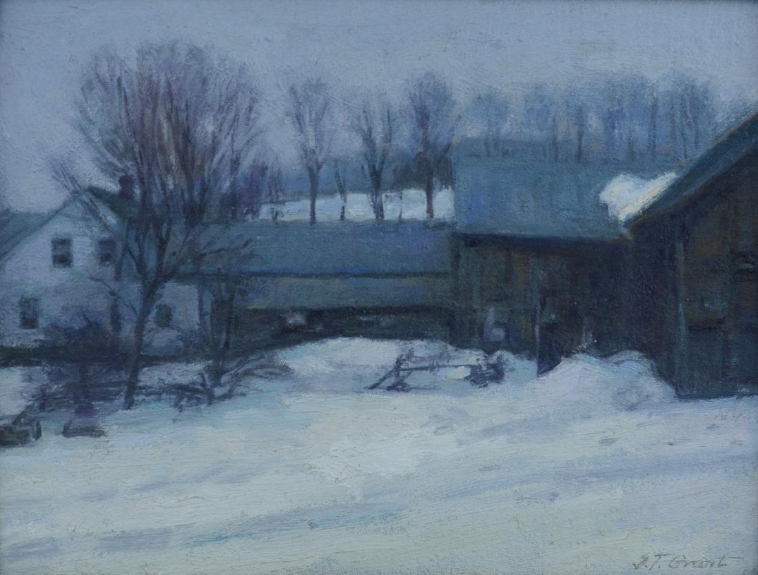 ST Grant winter landscape painting